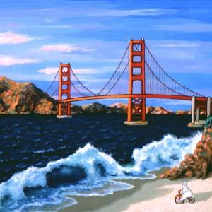 Golden Gate by Grace Slick