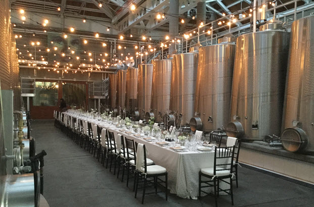 Valentine's Dinner in the Winery