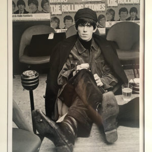 Keith Richards in Chelsea Boots, Munster, 1965, by Bent Rej